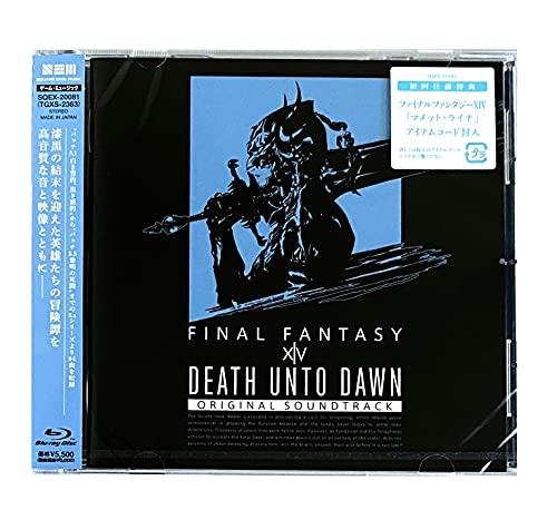 【先着特典つき初回生産分】 Death Unto Dawn: FINAL FANTASY XIV Original Soundtrack【映像付サントラ/Bl...