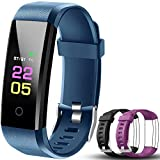Fitness Tracker Watch with Blood Pressure Monitor,Kids Activity Tracker Waterproof with Heart Rate