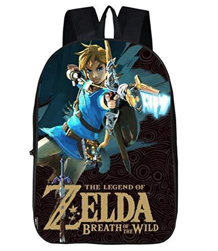 Mochila de anime para niños y niñas, mochila de viaje