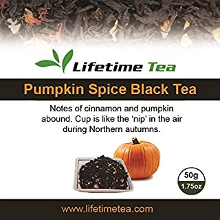 Flavored Black Tea (Pumpkin Spice, 50g