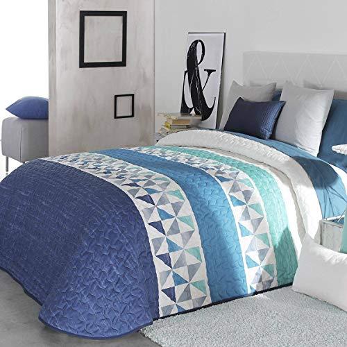 Reig Marti - Colcha bouti Wang 2P - Cama 90 Cm - Color Azul C03