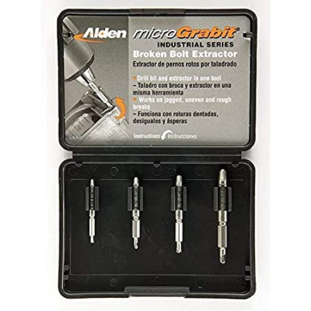 Broken Bolt Extractor YUTOU damaged screw extractor kit and stripped screw extractor set High Speed Steel Easy Out Broken Head Screw Remover Tool kit
