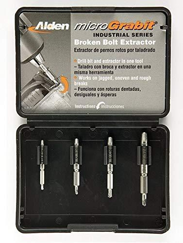 Alden 4507P Grabit Micro Screw Extractor Kit