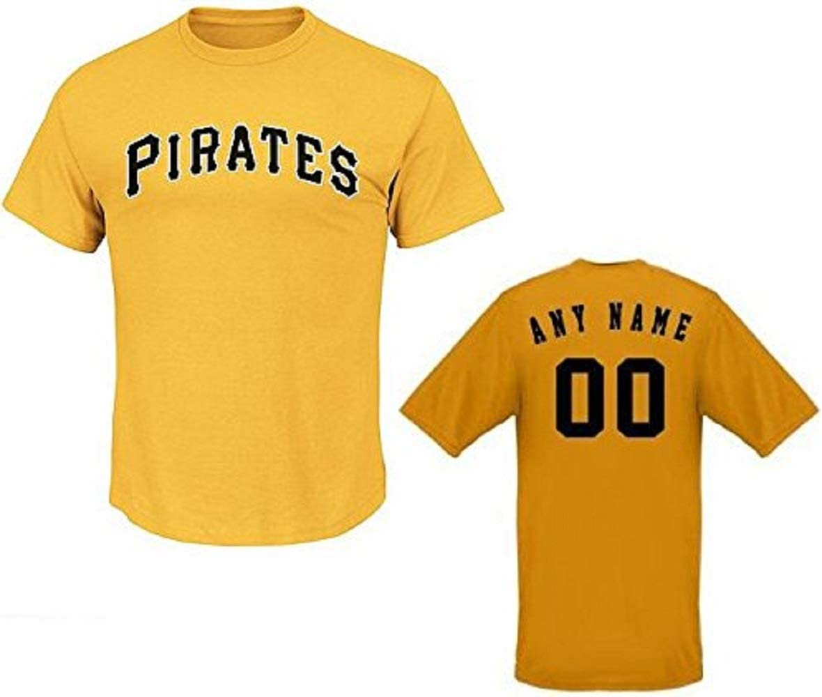 Ranking TOP13 Majestic Athletic Pittsburgh Pirates Custom or # Blank Ba Name Free shipping / New