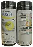 100x 8parámetro profesional/GP para análisis de orina Multisticks orina tiras de prueba de cinta Stick–PH/glucosa/Cetona/hígado & Riñones Infección