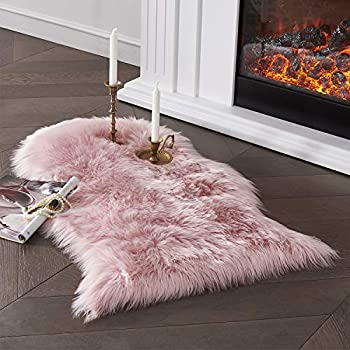 Serissa Ultra Soft Faux Sheepskin Fur Area Rug