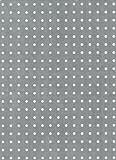 GAH-Alberts - Plancha de aluminio perforada (perforaciones de 4,5 mm)