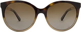 Kate Spade Women's Amaya/s Round Sunglasses, HAVANBEIG, 53 mm