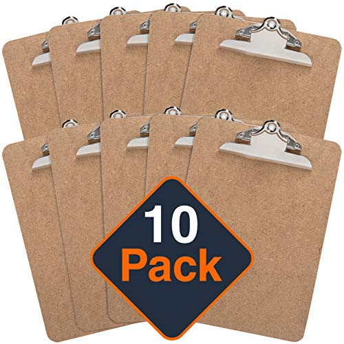 Clipboard (Pack of 10) Letter Si...