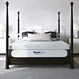 Classic Brands Cool Gel 1.0 Ultimate Gel Memory Foam 14-Inch Mattress with BONUS 2 Pillows , California King, White
