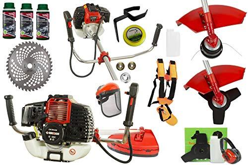 PetrolErman - Cortador de brocas, cortadora de césped y cortador de césped