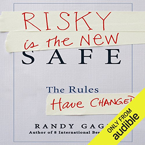 Risky Is the New Safe audiobook cover art