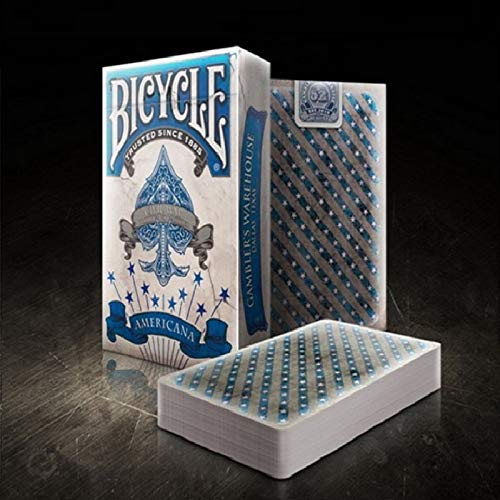 URNOFHW Deck amerikanische Cowboy-Blumen-Cut Kollektion Fahrrad-Spielkarten