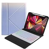 Étui avec clavier pour iPad 9.7, iPad Pro 9.7, iPad Air2 - Étui folio avec support - Clavier...
