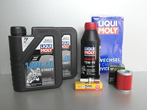 Kit d'entretien SYM MAXSYM 600, filtre à huile, bougie d'allumage, huile