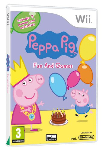 Peppa Pig: Fun and Games (Wii) [Importación inglesa]