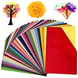 Colovis 36 Colors Tissue Paper, 11.6 X 7.7 inches, Bulk Decorative Art Tissue Paper Sheets for DIY Craft Projects (180 Sheets)