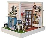 LEMOGO DIY Holz Puppenhaus Handwerk Miniatur Kit - Room Corner Modell & Möbel
