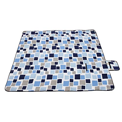 YLiansong-home Ultralight Camping Mattress Fashion Large Size Folding Camping Mat Waterproof Picnic Mat Family Picnic Mat For Camping (Color : 5, Size : 200x200CM)