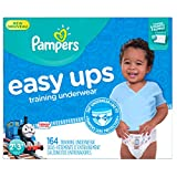 Pampers Easy Ups Training Pants Pull On Disposable Diapers for Boys...