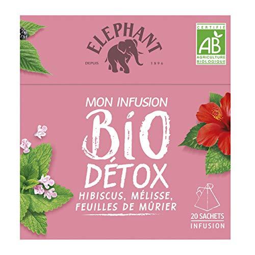 Elephant Mon Infusion Bio Détox 20 sachets