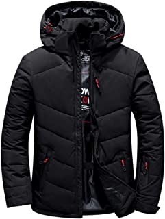 ONEU ダウンジャケット メンズ 軽量 防風 防寒 暖かい ウルトラライト ダウン コート コンパクト収納 軽量 収納袋付き ダウン90%