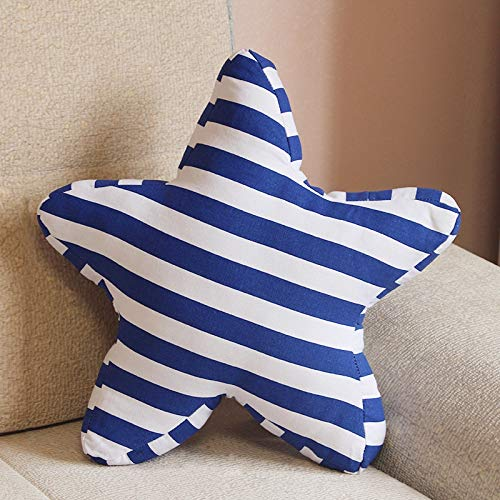 Pentagram Shape Cushion Bed Backrest Support Throw Pillow with Pillow Size: 45 x 45cm Ou Rui Ka Ke Ji (Color : Color4)