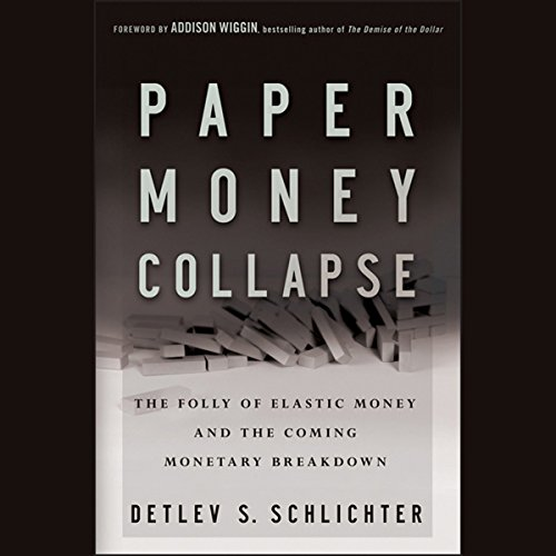 Paper Money Collapse audiobook cover art