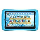 Kurio Bluetooth Advance Tablet-PC–(blau) (MediaTek 1.3GHz Prozessor, 1GB RAM, 16GB HDD, ARM Mali-450MP4, Android 6.0) -