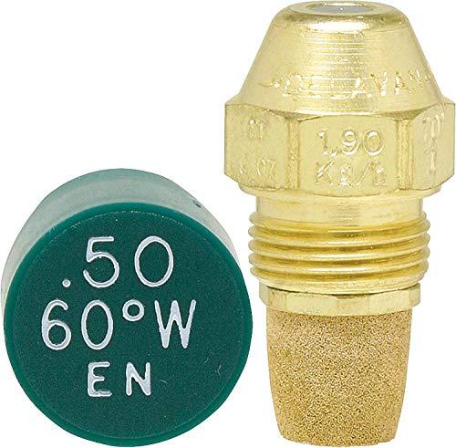 Boquilla de aceite Delavan, 0,50 – 60 W, cono especial, boquilla de quemador de aceite, patrón de pulverización: boquilla multiusos