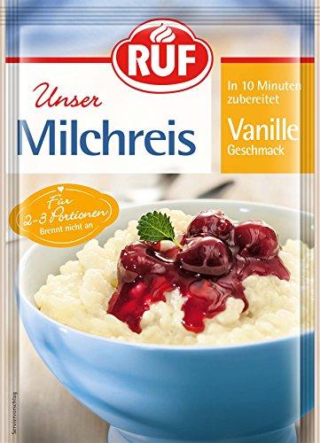 RUF Milchreis Vanille, 16er Pack (16 x 125 g)