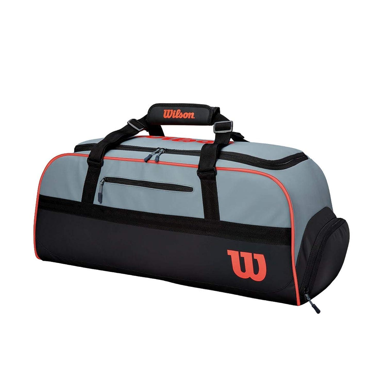 居住者タッチ名義でWilson(ウイルソン) テニス バドミントン ラケットバッグ CLASH DUFFLE LARGE (クラッシュ ダッフル ラージ) ラケット9本まで収納可能 WR8002401001