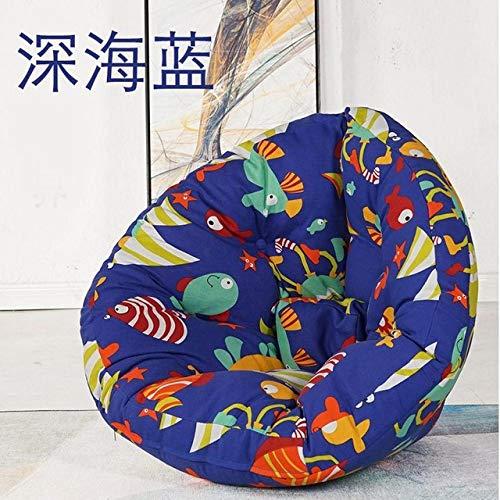 LKU sofakruk comfortabele zitzak stoel faul sofa afzonderlijke zitzak ligstoel kleine woning slaapkamer lief, M maat 8