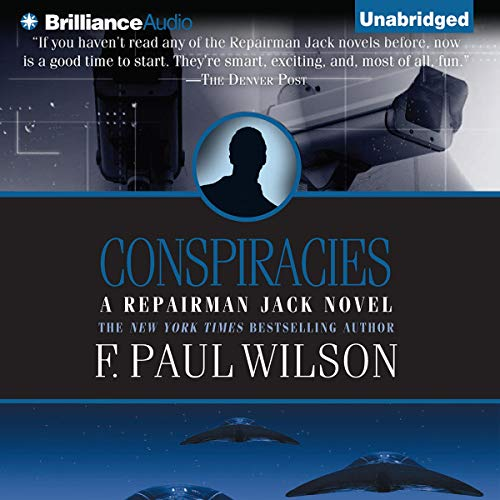 Conspiracies audiobook cover art