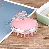 EPMEA0 Massaggio Morbido Silicone di Stile dei Capelli Hair Design Pettine Multifunzionale può Essere utilizzato for Il Bambino Shampooing Non tossico Sicuro è Disponibile (Color : Pink)