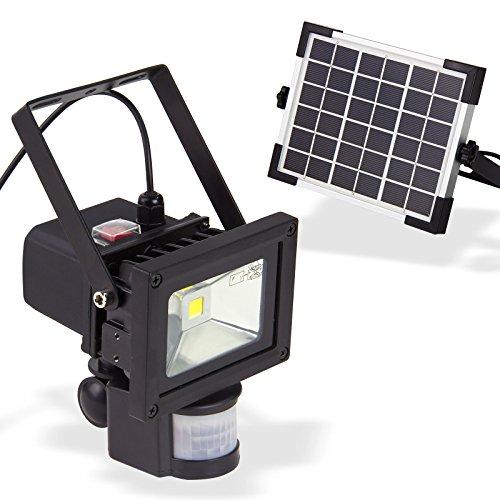 DEMA Solar LED-Strahler mit Bewegungsmelder 10 Watt