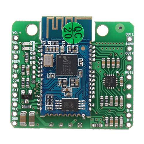Arduino - Kit de amplificador para placa de amplificador, módulo de amplificador de 12 V CSR8645 APT-X HiFi Bluetooth 4.0 estéreo