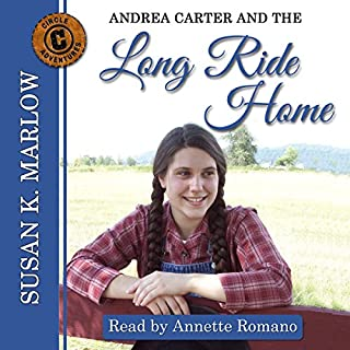 Andrea Carter and the Long Ride Home audiobook cover art