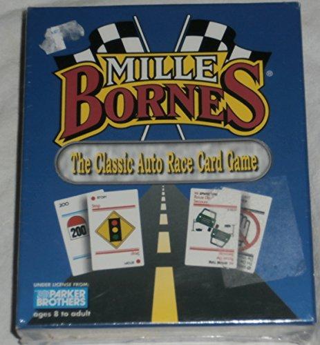 Mille Bornes Classic Auto Race Card Game