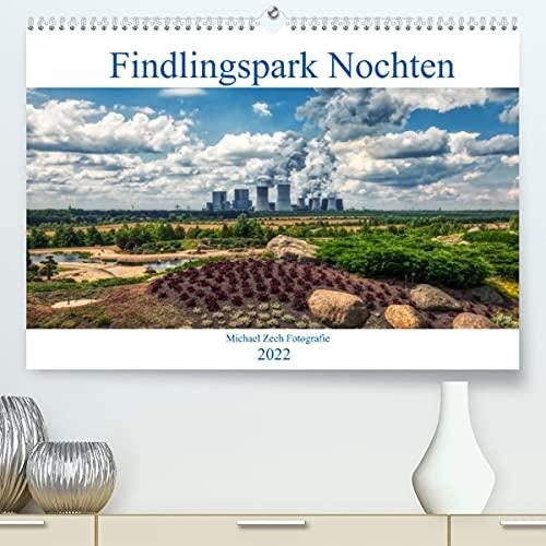 Der Findlingspark in der Lausitz (Premium, hochwertiger DIN A2 Wandkalender 2022, Kunstdruck in Hochglanz)