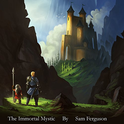 The Immortal Mystic audiobook cover art