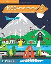 دلاية كتاب طلاب مكتوب عليها KS3 Maths Progress للطلاب 1