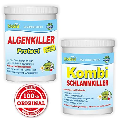 SPARSET Gartenteich für max. 5.000 Liter - Algenfreie Teiche und weniger Teichschlamm