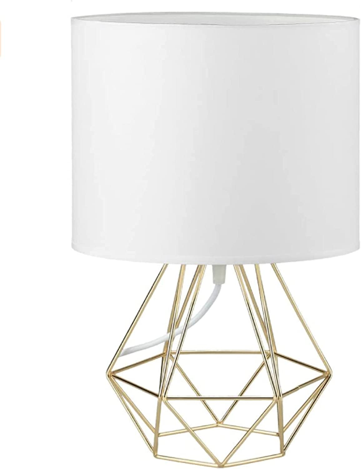 Modern Bedside Lamp - OFFicial site Stylish Fabric White with Now free shipping Small Table