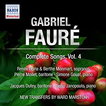 Faure: Complete Songs, Vol. 4