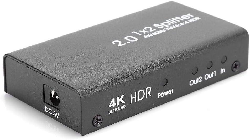 Taidda- Ac100V240V Durable Video Distributor Max 71% OFF O in 2 Sale 1 Splitter