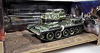 【ワルターソン】1/32 ソヴィエト軍 T-34-85 (1944年型) 1945年 5月ベルリン ウエザリングタイプの1部ダイキャスト製(付属品付き)