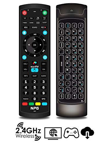 "Televisor 40"" LED NPG Smart TV Android Ultra HD 4K + Control Remoto QWERTY/Motion. TDT2 H.265, WiFi, Resolución 3840x2160, USB Grabador, Screen Mirroring, Quad Core, S520L40U miniatura"