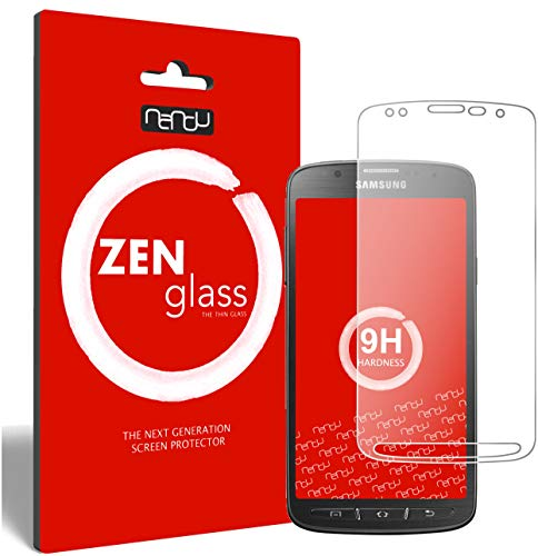 ZenGlass Flexible Glas-Folie kompatibel mit Samsung Galaxy S4 Active Panzerfolie I Display-Schutzfolie 9H