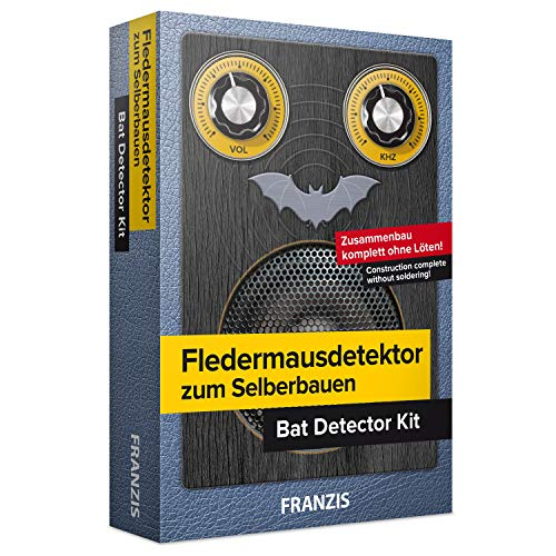 FRANZIS Fledermausdetektor zum Selberbauen: Bausatz komplett ohne Löten! | Ab 14 Jahren